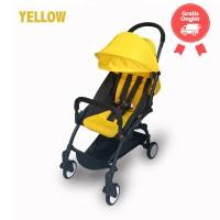 Kereta BabyDoes CH-337-SN Petite Yellow