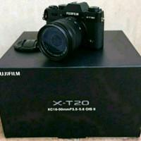 Angsuran Kamera Mirrorless Fuji XT20 with 16-50mm