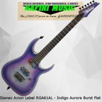 Ibanez Axion Label RGA61AL - Indigo Aurora Burst Flat