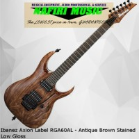 Ibanez Axion Label RGA60AL - Antique Brown Stained Low Gloss