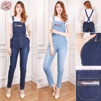 Overall Jumpsuit Maya Casual Longpant Jumsuit Jeans Wanita