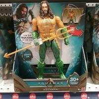 DC Aquaman Movie Trident Strike Aquaman Action Figure [Lights & Sounds