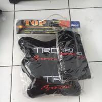 Bantal Jok Kursi Mobil 2in1 TRD Sportivo / Bantalan 2 in 1 Warna Hitam