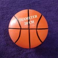 GROSIR BOLA BASKET ANAK KARET DIAMETER 20CM - MAINAN BASKET BALL MURAH