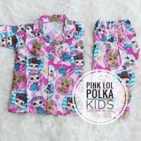 Piyama / Baju Tidur Anak LOL SURPRISE NEW ( S - XXL ) - Katun Jepang