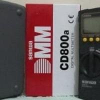 AVO METER MULTITESTER SANWA CD800A *ASLI