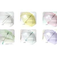 Payung Transparant warna Payung Korea Payung Transparan Murah