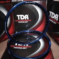 Velg tdr 140+160 blue black ring 17