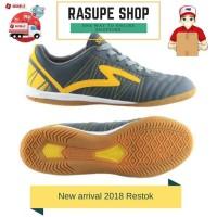 Sepatu Futsal Murah Sepatu Futsal Specs horus dark charcoal Abu Yellow