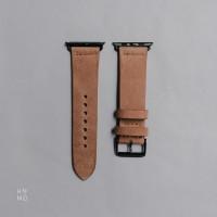Apple Watch Strap  Medium brown  handmade