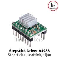 Driver Stepper Motor A4988 + Heatsink for 3D Printer and CNC