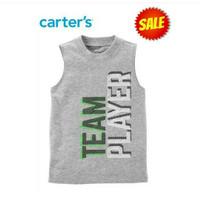 (SALE) CARTER TEAM PLAYER TANK SHIRT / TSHIRT ANAK COWOK BRANDED MURAH