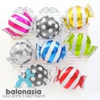 Balonasia Balon Foil Candy / Permen Lucu
