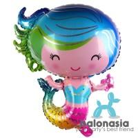 Balonasia Balon Foil Mermaid / Putri Duyung