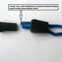 Stopper Ujung Untuk Tali Cord / Kur Variasi Kepala Resleting Tas