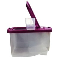 RIce Box Asvita 5 Kg Tempat Kotak Beras Mini Plastik Tutup