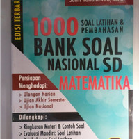 1000 BANK SOAL NASIONAL SD MATEMATIKA ED. TERBARU/PTR100256845