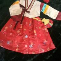 Hanbok korea anak perempuan baju tradisional korea atasan saja