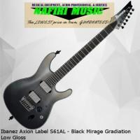 Ibanez Axion Label S61AL - Black Mirage Gradiation Low Gloss