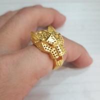 cincin emas hongkong 24k 5.120 gram size 20