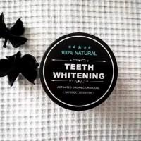 Pemutih Gigi Charcoal Whitening Teeth (arang pemutih gigi)