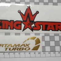Cutting Sticker PERTAMAX TURBO 10cm