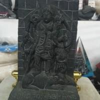 Miniatur Batu Pahat Roro Jonggrang-Bahan Batu l Resin-Souvenir Jogja.