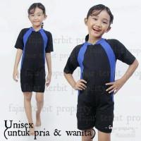 1+ sampai 3,5 tahun, baju renang anak balita perempuan & laki polos