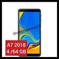 Free Ongkir Samsung Galaxy A7 2018 (4/64 Gb) - Blue Ekslusif
