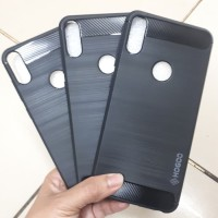 Asus zenfone Max Pro Mi Case HOGO carbon Fiber Soft