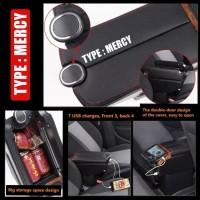 Promo Armrest Box USB - Console Brio Mobilio Brv versi dudukan rendah