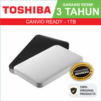TOSHIBA Canvio Ready 1TB - External HDD - Garansi Resmi - Canvio Basic