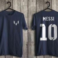 Kaos Baju Distro Bintang Bola Messi 10 combed 20s