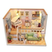 DIY Miniature Doll House - M026 - because i met you