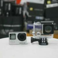 Camera Kamera Action Gopro Go Pro Hero 4 Silver Mulus Muraah