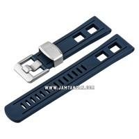 Strap Crafter Blue CB01-22mm-Universal-Navy Man Rubber Strap