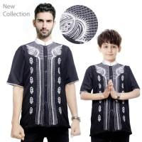 Couple Atasan Baju Muslim Geraldy Baju Koko Kemeja Anak Dan Ayah