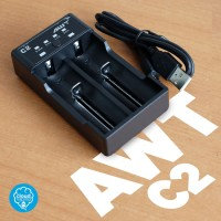 BATTERY CHARGER AWT C2 AUTHENTIC 2 SLOT