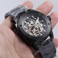 Jam Tangan Fossil MODERN MACHINE ME3080 Black Automatic Original