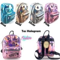 Tas Hologram Magic Girl Ransel Backpack Anak Cewe Remaja
