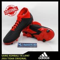 Sepatu Bola Adidas Predator 18.3 FG Black White Red DB2001 Original