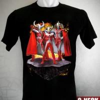 Kaos Ultraman Taro Family Ukuran S sd XL