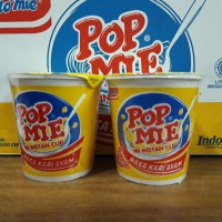 Pop mie mi instan cup rasa kari ayam @75 gram 4.000 satuan