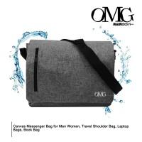 Shoulder Messenger kanvas Bag Men Women Travel Laptop Bag tas sekolah
