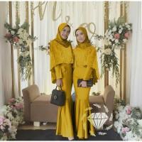 Terlaris Dress Azka Duyung Maxi Dress Gamis Muslimah Model Terkini
