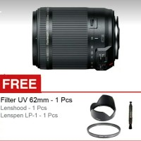 Tamron Lensa 18 - 200 mm VC RESMI For CANON EOS DSLR Free Aksesories