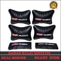 Bantal Mobil Mugen Headrest Mobil Honda Aksesoris MobilKode 91887