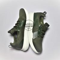 Sepatu olahraga running sneakers skechers go run mojo green