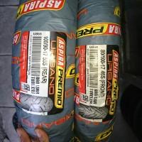 Paket 2 ban size standar 80 100 & 100 90 ring 17 Motor Verza Urbano