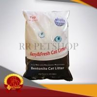 Gojek / Pasir Kucing Gumpal Bentonite Cat Litter 20 Kg Top Cat 20Kg